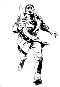 Blade, no traço de Gene Colan