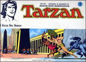 Coleção Tarzan/Russ Manning #1 - O Berço dos Deuses