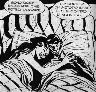 Júlia divide a cama com Wayne em Júlia #31