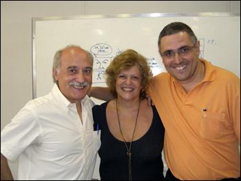Berardi, Sônia Luyte e Sidney Gusman