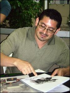Eddie Berganza avalia portfólios