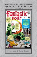 Biblioteca Histórica Marvel - Quarteto Fantástico # 1