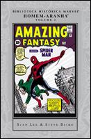 Biblioteca Histórica Marvel - Homem-Aranha # 1