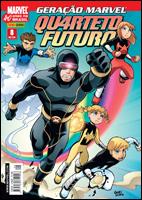 Geração Marvel - Quarteto Futuro # 8