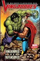 Os Maiores Clássicos dos Vingadores 4 - Vingadores versus Defensores