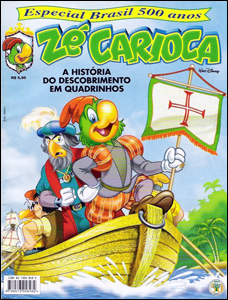 Zé Carioca - Especial Brasil 500 Anos