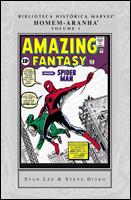Biblioteca Histórica Marvel - Homem-Aranha
