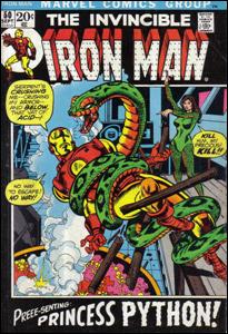 Iron Man # 50