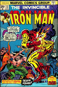 Iron Man # 72