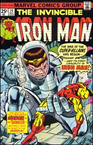 Iron Man # 74