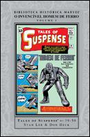 Biblioteca Histórica Marvel - Homem de Ferro # 1