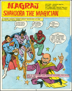 Nagraj Vs. Shakoora The Magician