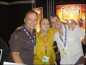 Will Conrad, Philip Simon e José Villarubia