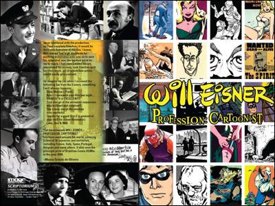 Will Eisner - Documentário, EUA - Encarte