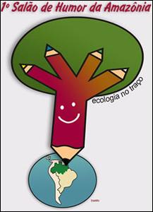 I Salão de Humor da Amazônia: Ecologia no Traço