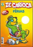 Zé Carioca Férias # 1