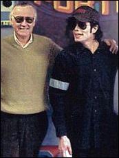Stan Lee e Michael Jackson