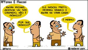 Charge de Alexandre Affonso e Victor Mazzei