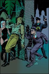 Rima, Doc Savage, Spirit e Falcão Negro