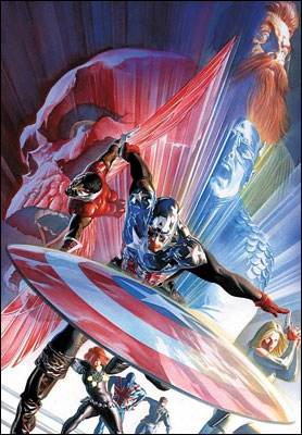 Captain America #601: Red, White e Blue-Blood