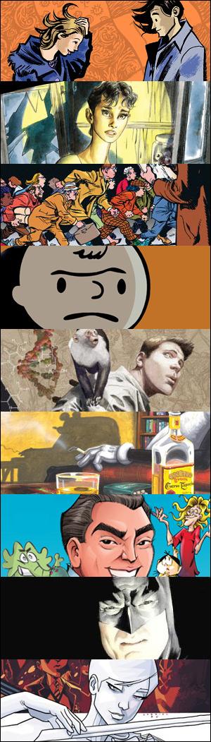 Os melhores quadrinhos de 2009