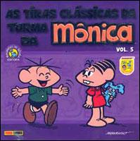 AS TIRAS CLÁSSICAS DA TURMA DA MÔNICA - VOLUME 5