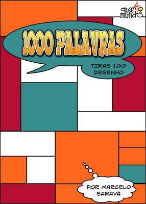 1000 palavras - Tiras 100 desenho