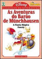 CLÁSSICOS DA LITERATURA DISNEY - VOLUME 28 - AS AVENTURAS DO BARÃO DE MÜNCHHAUSEN