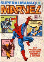 SUPERALMANAQUE MARVEL # 1