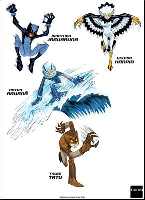 Força Animal - A Aventura Começa!