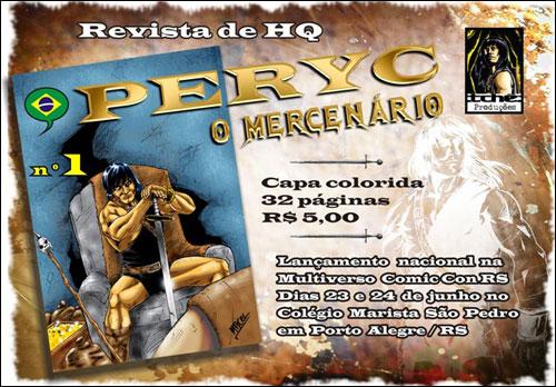 Peryc, o Mercenário # 1