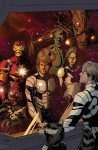 Capa alternativa de Guardians of the Galaxy #5, de Paolo Rivera