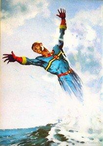 Arte da quarta capa da revista Warrior # 7