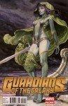 Gamora, arte de Milo Manara