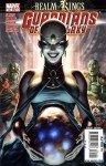 Serpente da Lua na capa de Guardians of the Galaxy # 22