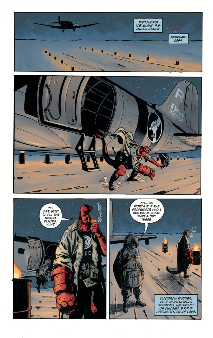 Hellboy and the B.P.R.D. 1954