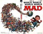 Capa da revista MAD parodiando o filme Deu a Louca no mundo