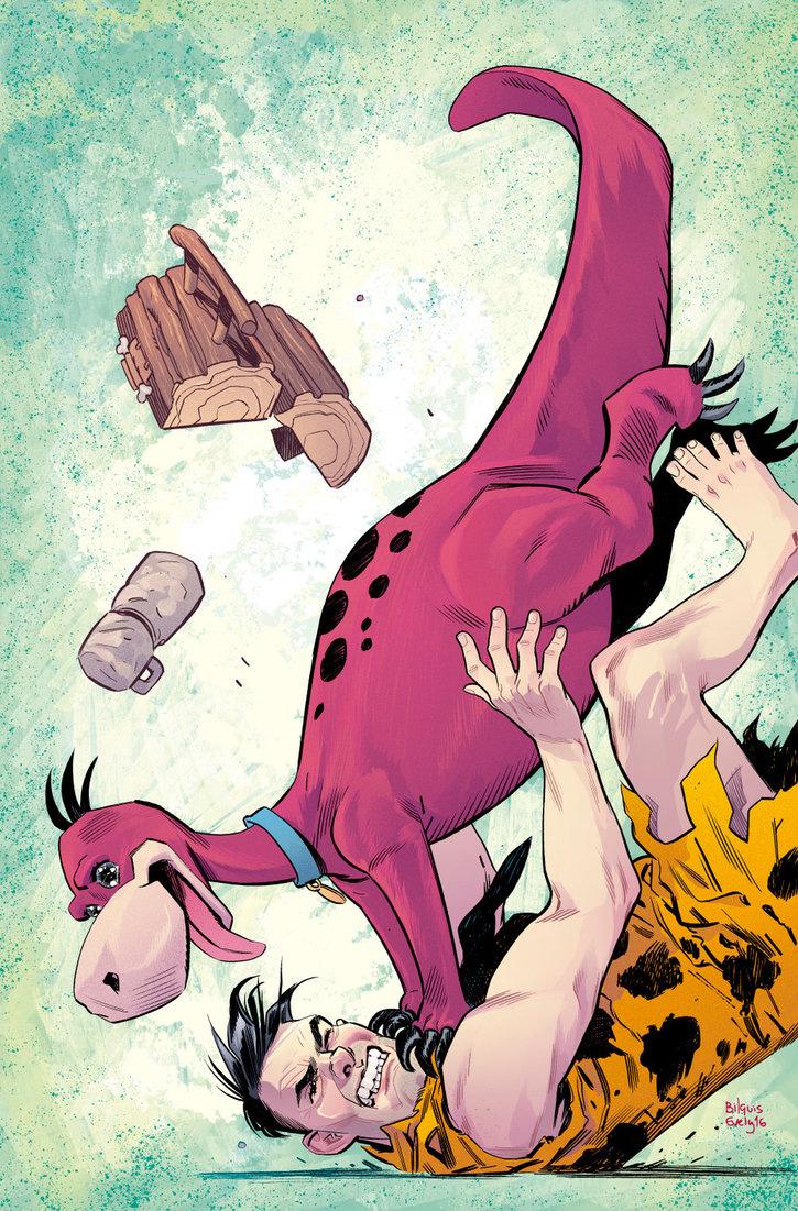 Capa alternativa de Os Flintstones