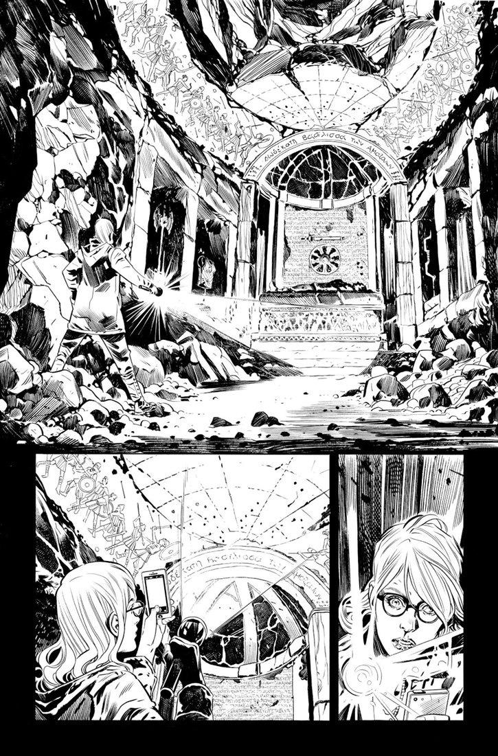 Página de Wonder Woman # 8