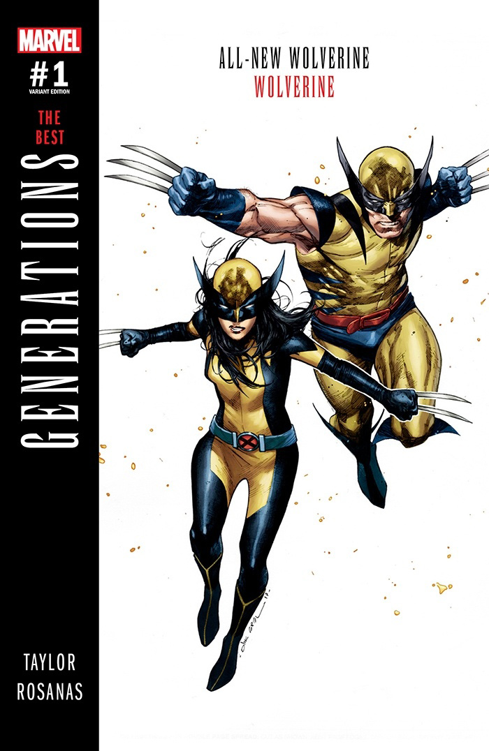 Generations -The Best, com X-23 e Wolverine