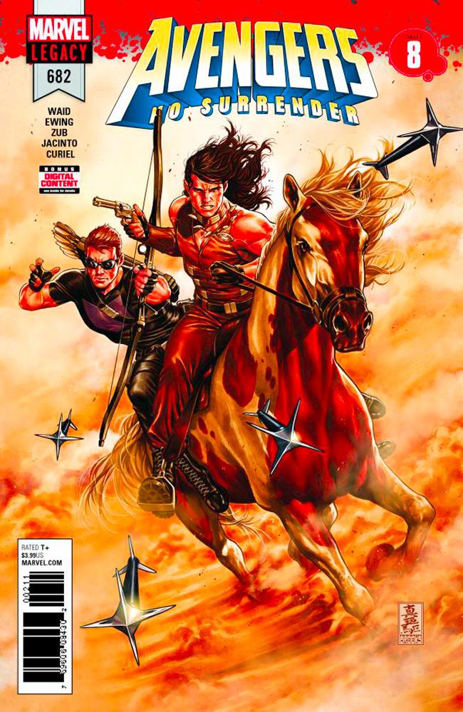 Avengers - No Surrender # 8