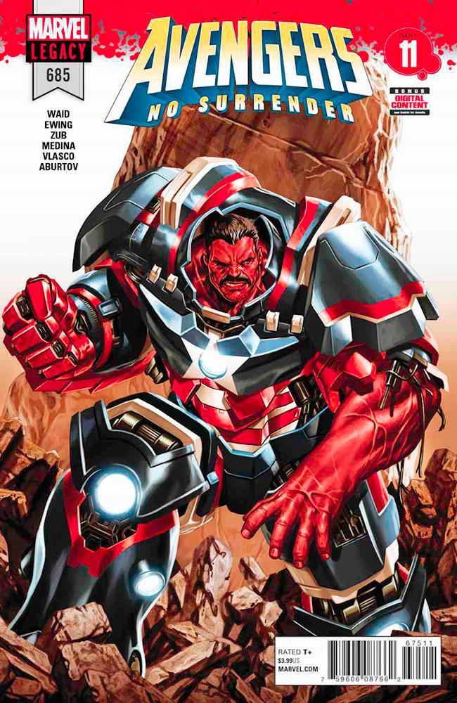 Avengers - No Surrender # 11