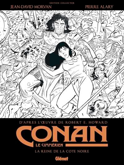 Imagens de Conan, da Glénat