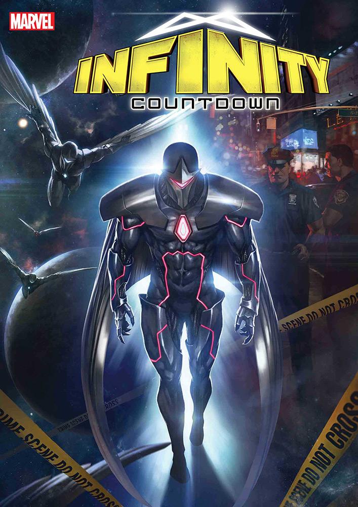 Capa de Infinity Countdown # 1