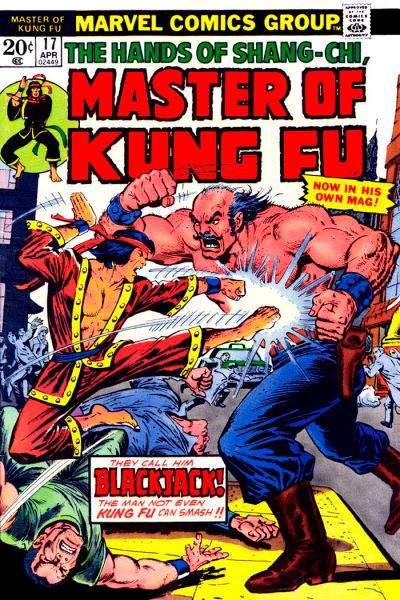 Master of Kung Fu # 17