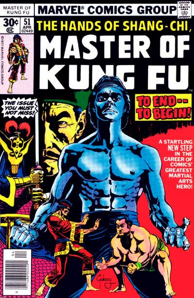 Master of Kung Fu # 51