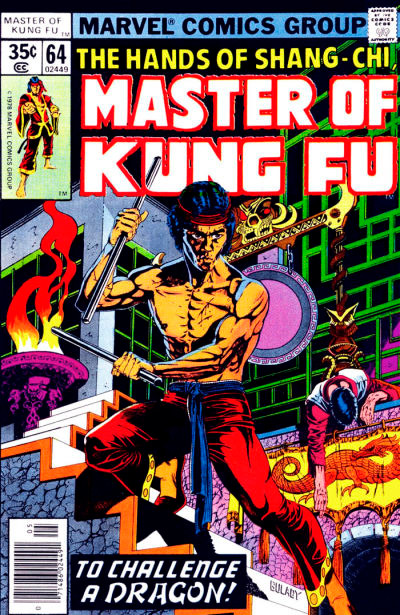 Master of Kung Fu # 64