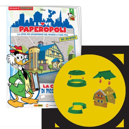 I Love Paperopoli # 4