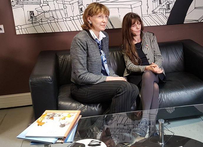 Brigitte Luciani e Eve Tharlet