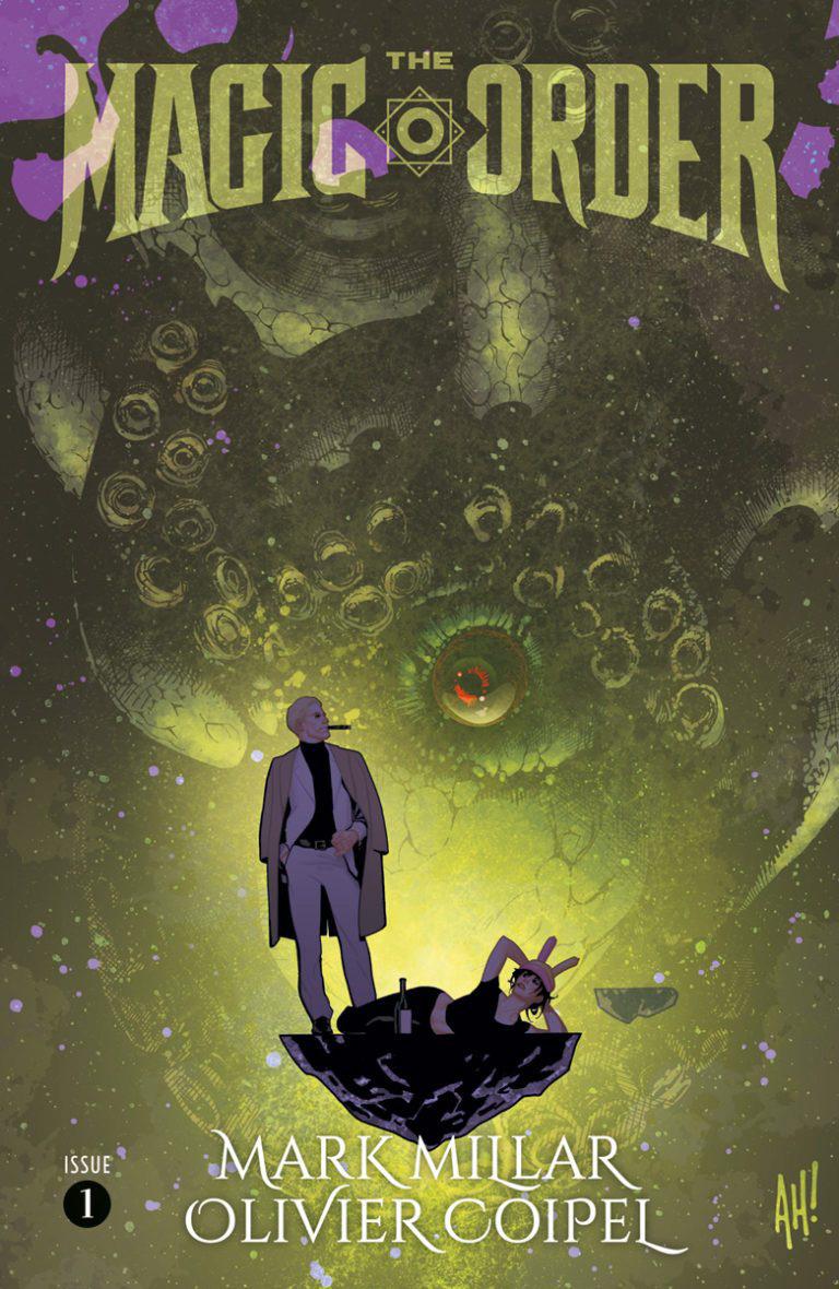 Magic Order # 1, capa alternativa de Adam Hughes